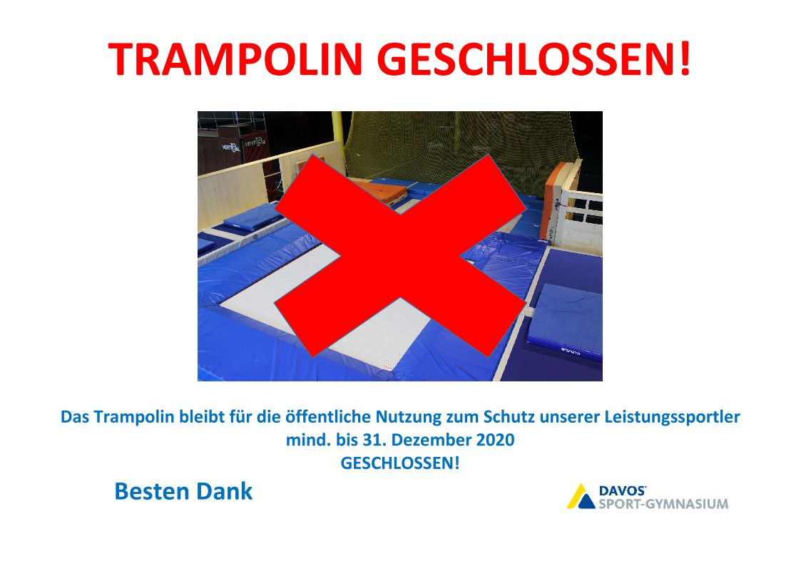 Trampolin Stiftung Warentest 2021